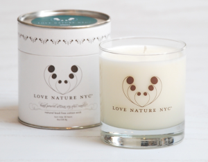 Love Nature Spruce Candle